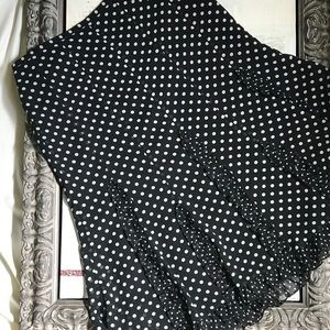 🖤 Ann Taylor LOFT Polka Dot Skirt